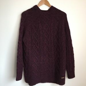 NEW Michael Michael Kors cable wool sweater